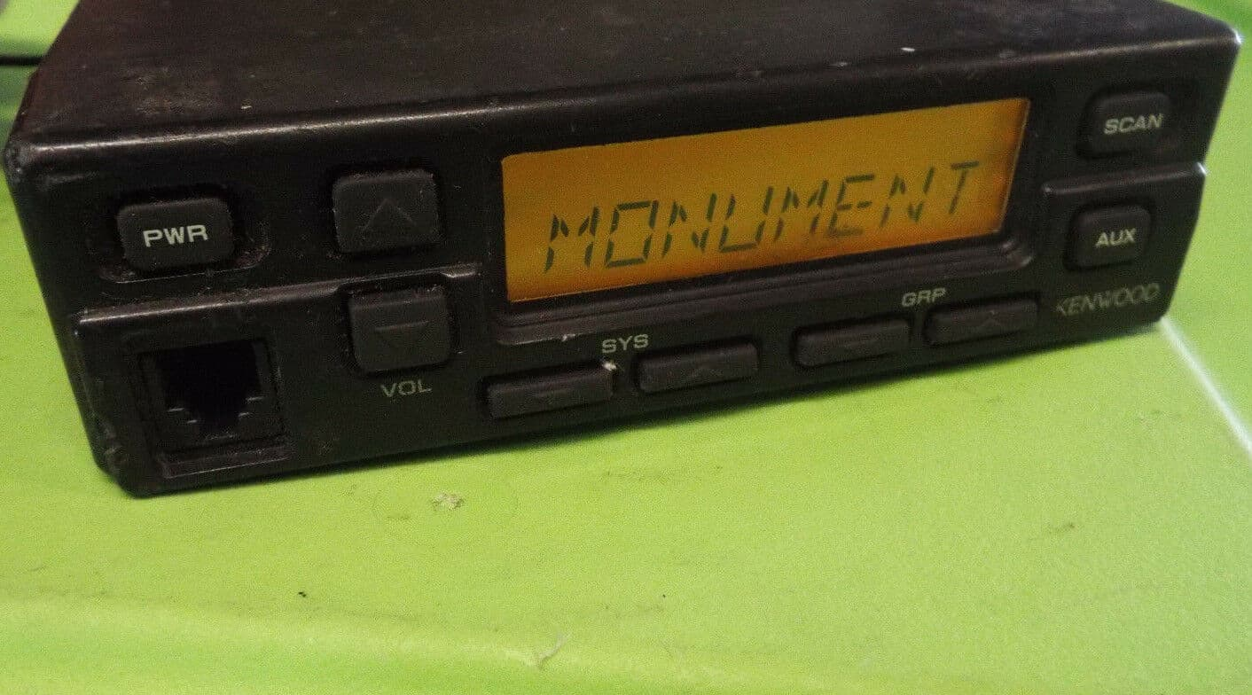 Kenwood TK-840 specifications - front panel