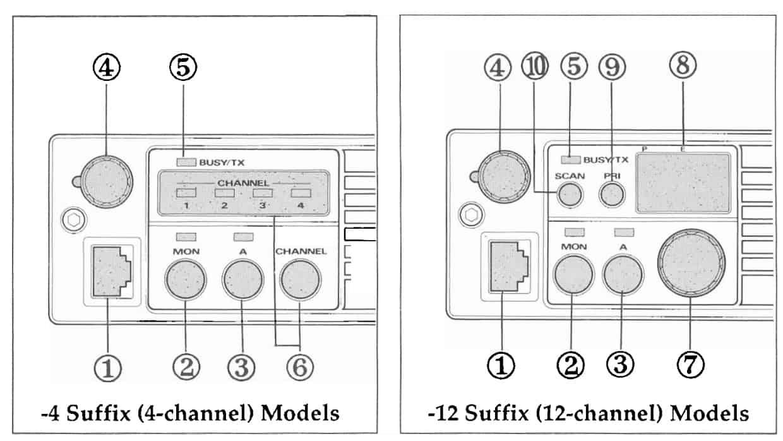 Vertex FTL-2011 specifications - front panel