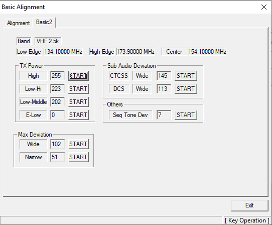 how to program vertex vx-2200 - basic alignment