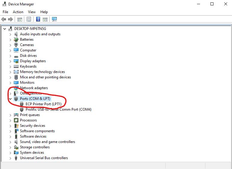 How to program vertex vx-2200 - COM port